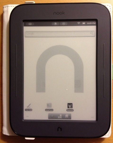 Android on Nook Simple Touch Reader